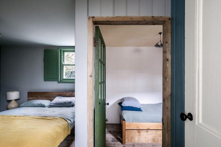 Dormitorios rústicos minimalistas
