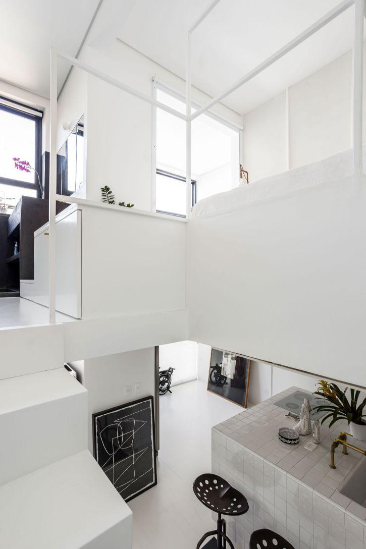 Dúplex estilo loft con decoración minimalista 4