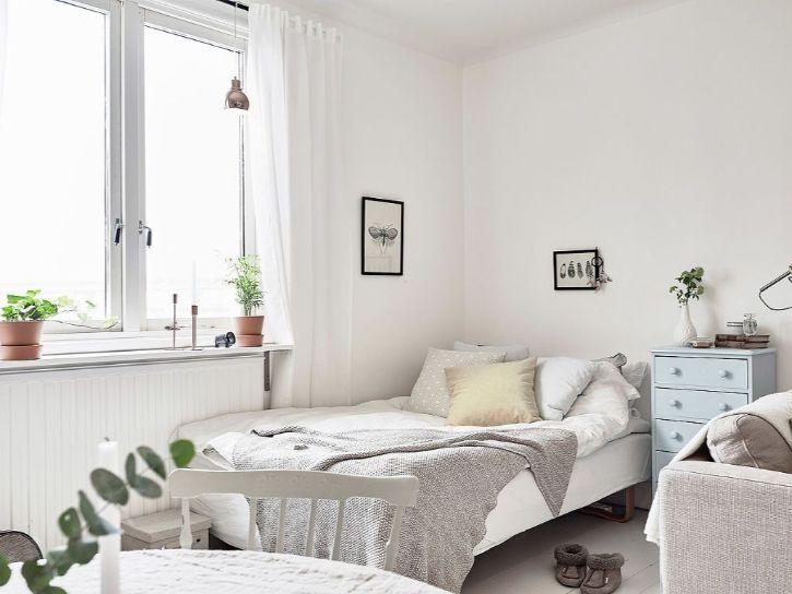 Decoración de minidepartamentos: 38 metros² de estilo nórdico 2