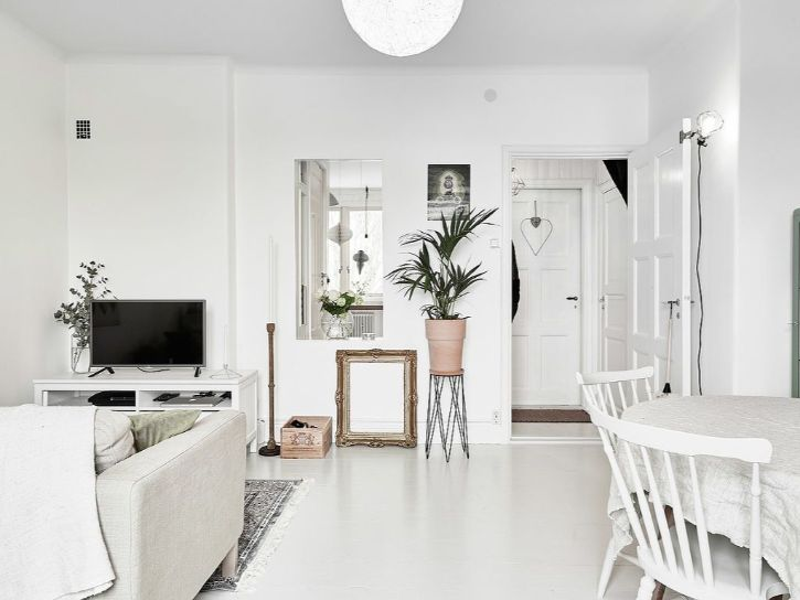 Decoración de minidepartamentos: 38 metros² de estilo nórdico 5