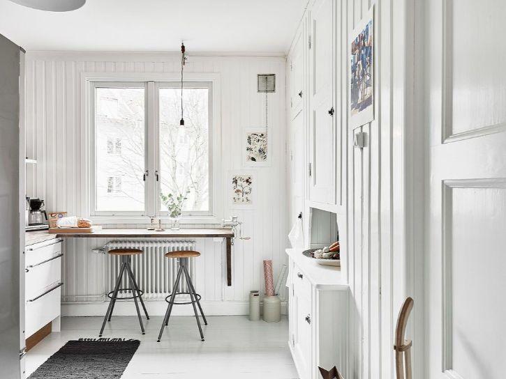 Decoración de minidepartamentos: 38 metros² de estilo nórdico 9