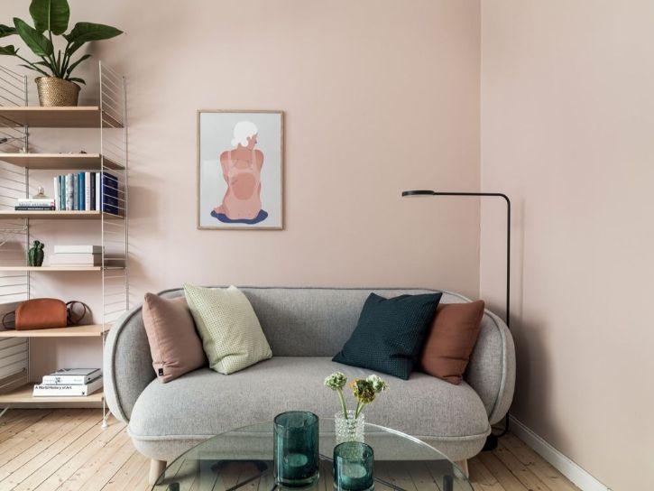 Decoración minidepartamentos: diseño colorido en 30 metros²