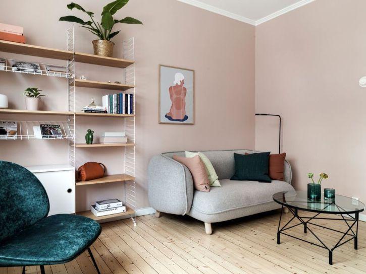 Decoración minidepartamentos: diseño colorido en 30 metros² - 2