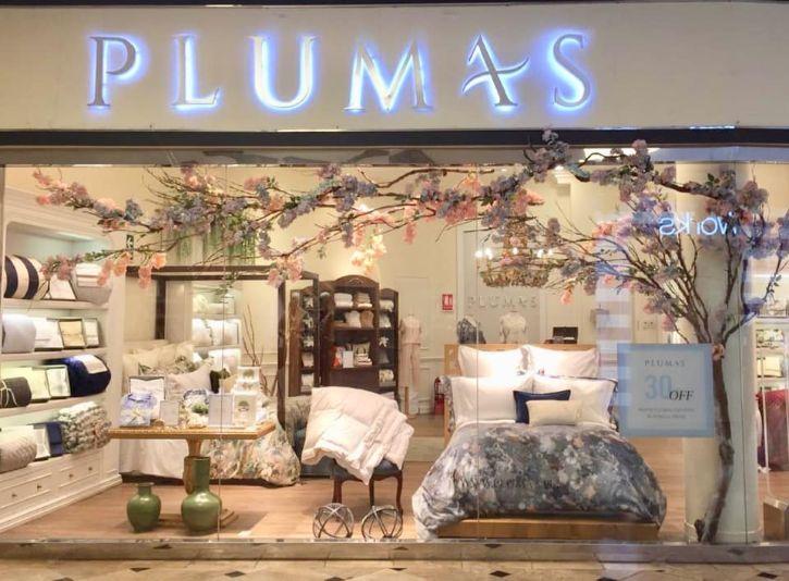 Plumas - Ropa de cama en Perú 1