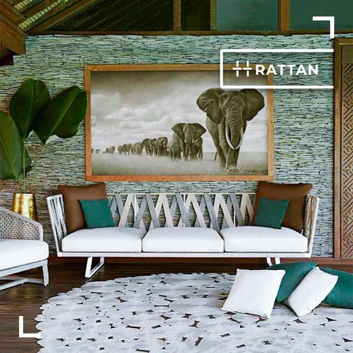 Rattan - Muebles de exterior e interior en rattán y fibras naturales 1