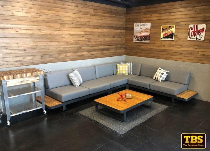 The Barbecue Store - Sofás seccionales y muebles para bares