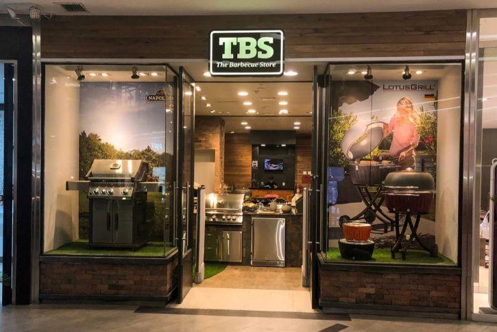 Tienda de The Barbecue Store en el CC Larcomar de Miraflores
