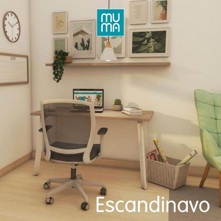 Muma Colombia - Muebles para oficinas y para home office en distintos estilos decorativos 2