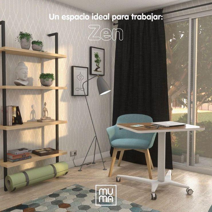 Muma Colombia - Muebles para oficinas y para home office en distintos estilos decorativos 4