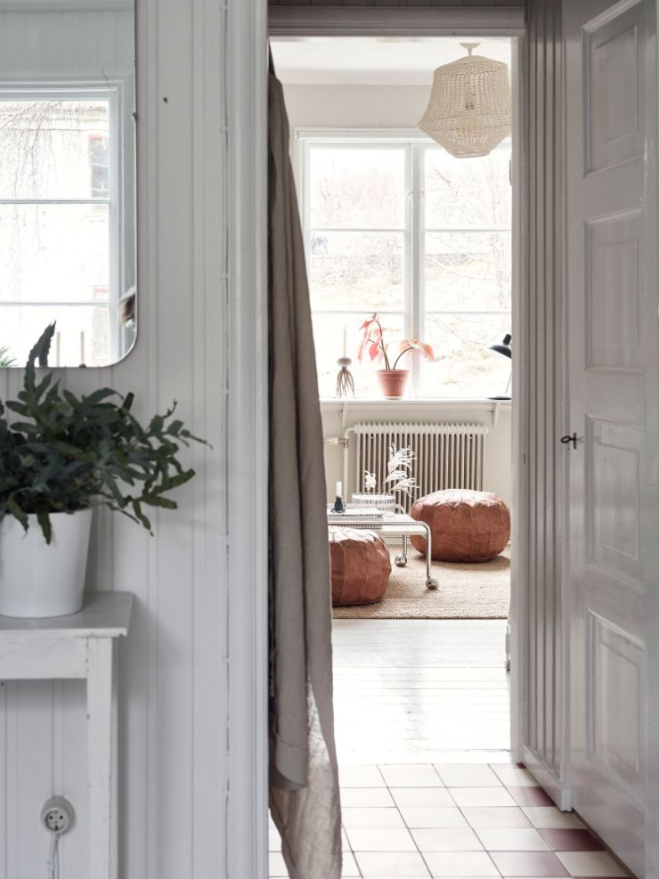 Sala vista desde la cocina