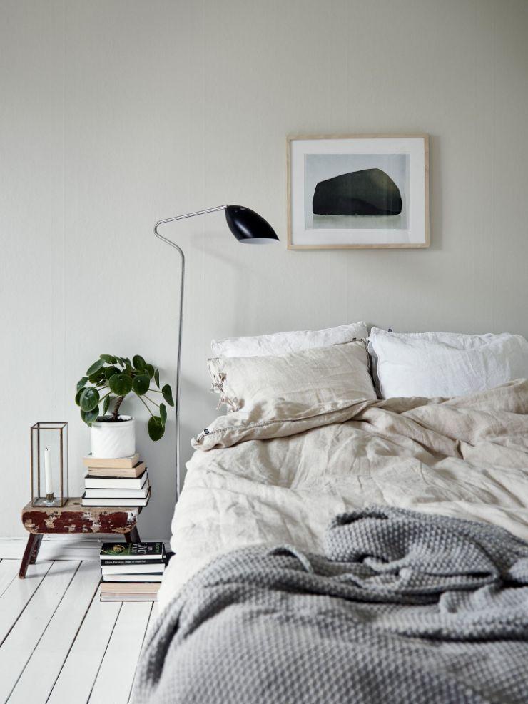 Espacio para el dormitorio con diseño minimalista