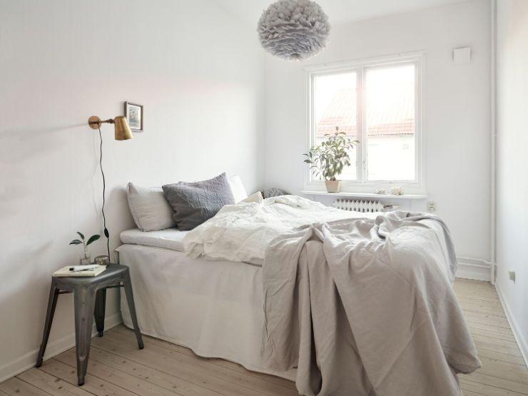 Habitación pequeña minimalista