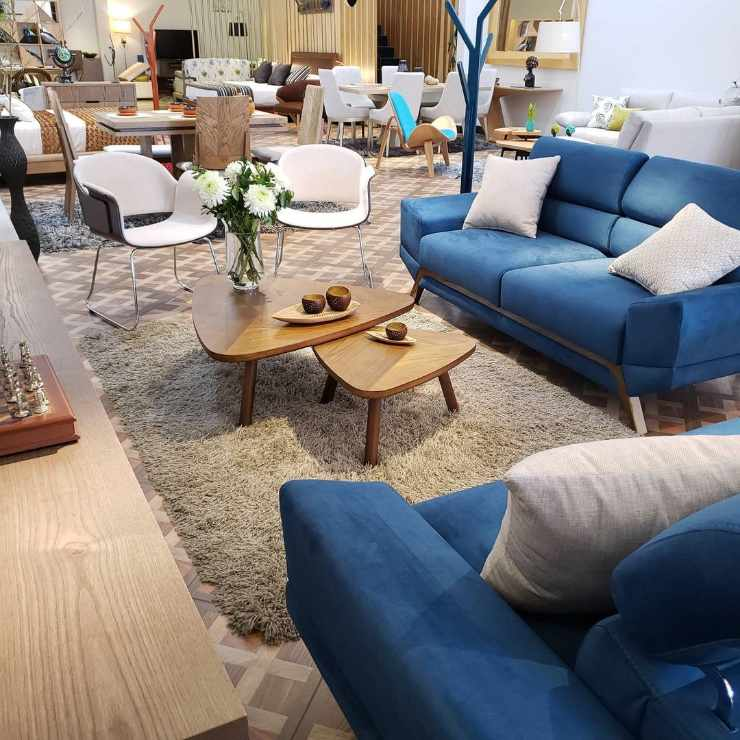 Tiendas decoración muebles Barrios Unidos Bogotá